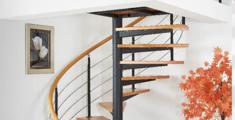 现代凯发网址钢木楼梯