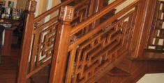 中式凯发网址实木楼梯