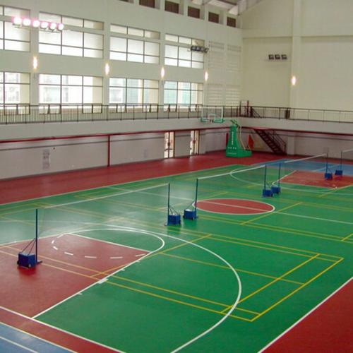 聚氨酯(PU)球場地坪