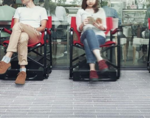 日本推自动化排队座椅 解决排队的乏味与劳累