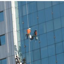 办公楼玻璃清洗