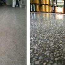 学校水磨石地板和翻新