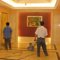 酒店大理石镜面养护
