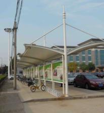 膜结构自行车棚厂家