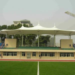 体育场膜结构景观棚的优势