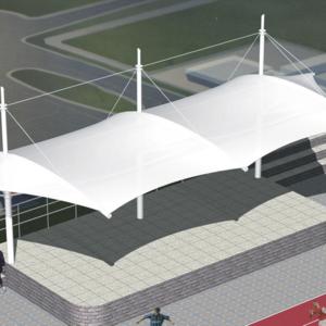 体育场膜结构景观棚