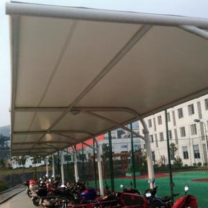 膜结构自行车棚有什么作用