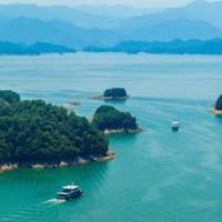 千島湖2日團建旅行!非常規原生態千島湖旅行路線,探秘新安江畔第一幽谷