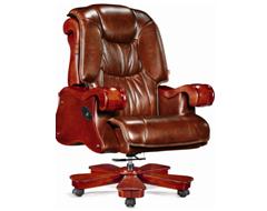 牛皮班椅003
