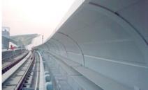 廣州地鐵五號線橋梁段聲屏障工程