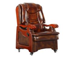 牛皮班椅006