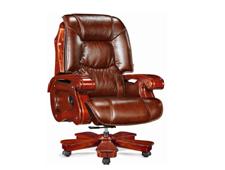 牛皮班椅004