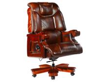 牛皮班椅002