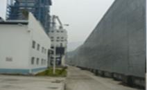 山東食用油廠界聲屏障工程