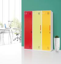 Thin edge single-door locker