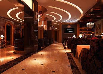 广州越秀区350平优阁咖啡厅装修_越秀区咖啡厅设计效果图