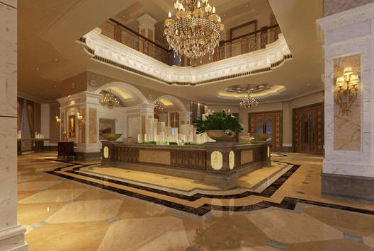 广州越秀区400平方东山水恋售楼部营销中心设计_办公室装修案例