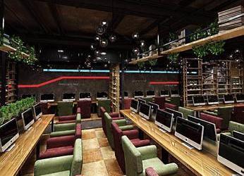 中山650平方网吧装修_网咖装修设计效果图