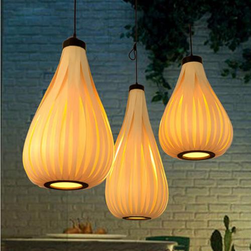 東南亞風格木+鐵藝吊燈DED028