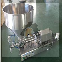 半自动台式单头膏体灌装机