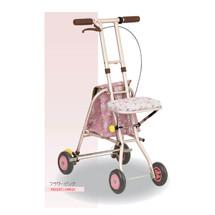 日本特高步老人购物车助行车手推车可折叠老年买菜车拉车四轮代步车