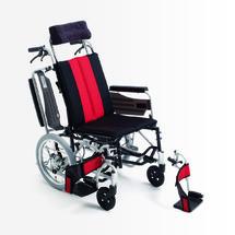 三贵MIKI轮椅车 MP-Ti 半躺折叠轻便 老人代步车残疾人手推车 上海实体店