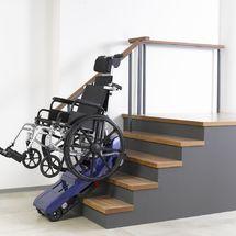 台湾品牌美利驰爬楼梯机E801 老人爬楼梯轮椅机器