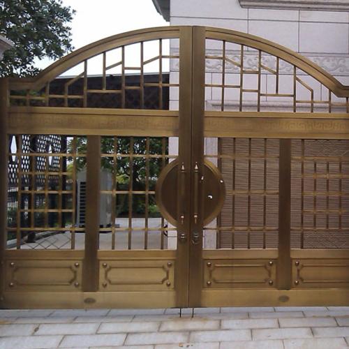 别墅院墙大门