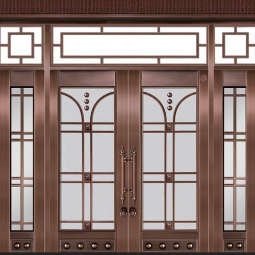 别墅玻璃大门