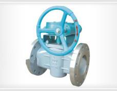 正齿轮传动油密封式旋塞阀