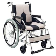 一期一会手动轮椅 豪华舒适型 可折叠 便携 老人推车 代步车 上海实体店