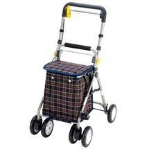 一期一会YX300老人助行器 老年人购物车 买菜车 可折叠超轻便携 上海实体店
