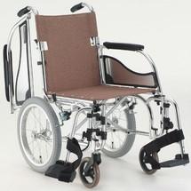 日本松永超轻轮椅轻便折叠可拆卸 老人残疾人代步车航太铝合金