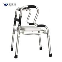 卫宜康老人助行器折叠轻便铝合金 助步器四角拐杖上海实体店