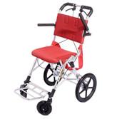 日本松永折叠便携式轮椅 超轻航钛铝旅游轮椅 上海实体店