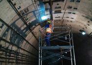 上海地铁隧道维修加固工程