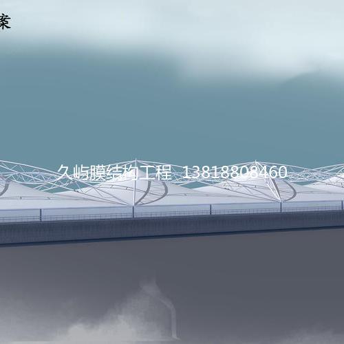 污水池加盖膜结构系列8