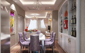 三种常见客厅隔断设计