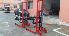 上海某智能科技公司---油桶搬运车、手动搬运车
