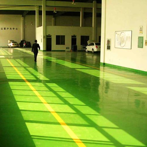 環氧樹脂自流平地坪