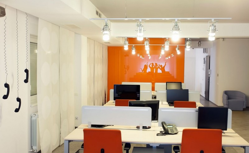 上海坤灵信息科技有限公司办公区装修案例