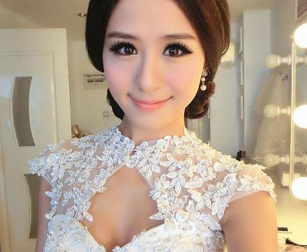 美丽新娘造型