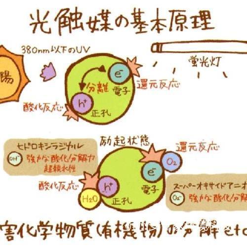 光触媒原理