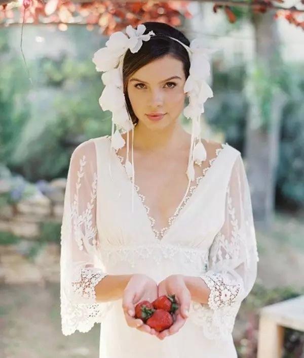 新娘造型欣赏