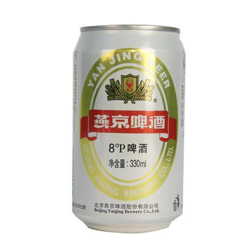 燕京啤酒8°啤酒330ml*6