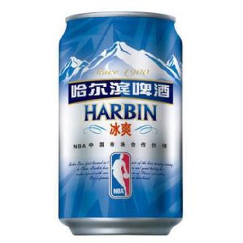 哈尔滨冰爽啤酒330ml*6