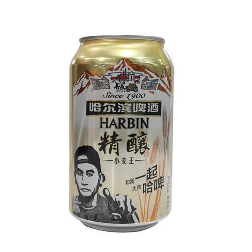哈尔滨精酿小麦王330ml*6