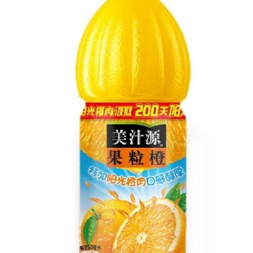 美汁源果粒橙1.25L
