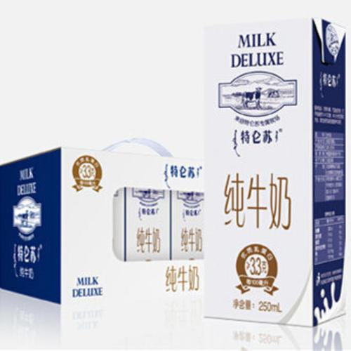 蒙牛特侖蘇純牛奶250ml*12