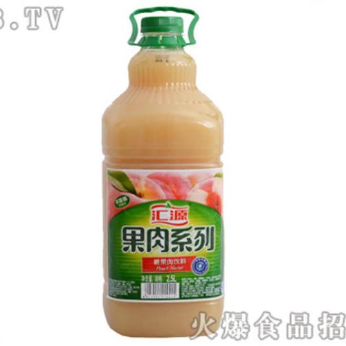 汇源果汁桃果肉饮料1.28L
